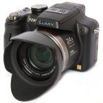 Panasonic Lumix DMC-FZ45 front angle