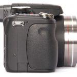 Panasonic Lumix DMC-FZ45 side