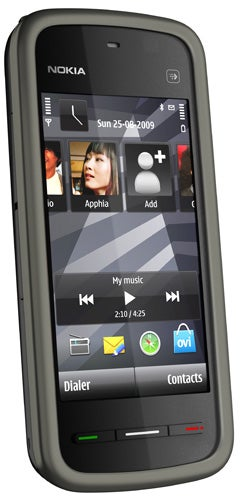 Nokia 5230 front angle
