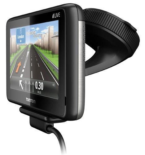 TomTom GO 1000 LIVE front angle