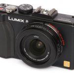 Panasonic Lumix DMC-LX5 front angle