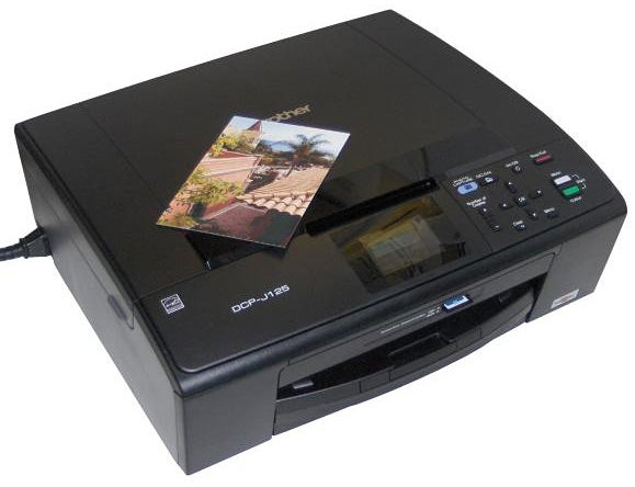 BROTHER DCP-J125 ALL-IN-ONE INKJET PRINTER WINDOWS 7 DRIVERS DOWNLOAD