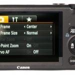 Canon PowerShot S95 back
