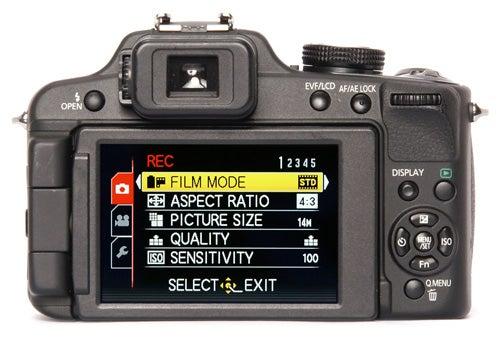 Panasonic Lumix DMC-FZ100 back