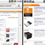Samsung Galaxy Europa UI