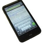 HTC Desire HD keyboard