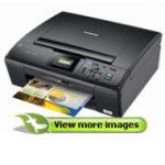 DCP-J125 Inkjet Multifunction Printer - Colour - Photo Print - Desktop (Copier, Scanner, Printer - 33ppm Mono/27ppm Color Print - 49 Second Photo - 6000 x 1200dpi Print - 22cpm Mono/20cpm Color Copy - 1200dpi Optical Scan - 100 sheets Input)
