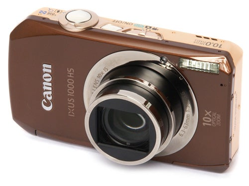 Canon IXUS 1000 HS front angle