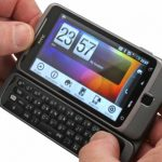 HTC Desire Z in hand