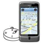 HTC Desire Z GPS