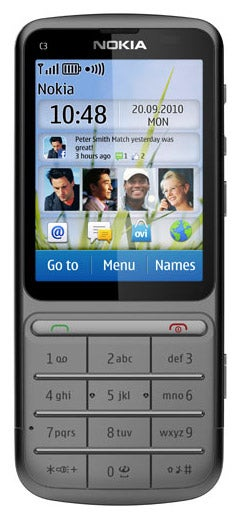 nokia c3 01 touch and type review trusted reviews rh trustedreviews com Nokia N8 Nokia C3- 00