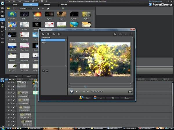 CyberLink PowerDirector 9 Ultra 64 Audio & Video Editing Software