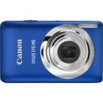 "IXUS 115 HS 12.1 Megapixel Compact Camera - 5 mm-20 mm - Blue (7.6 cm 3"" LCD - 4x Optical Zoom - Optical IS - 4000 x 3000 Image - 1920 x 1080 Video - QuickTime MOV - HDMI - PictBridge)"