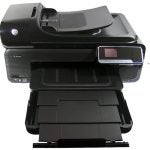 HP Officejet 7500A - tray open