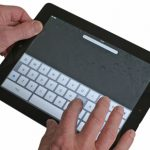 Apple iPad 2 typing