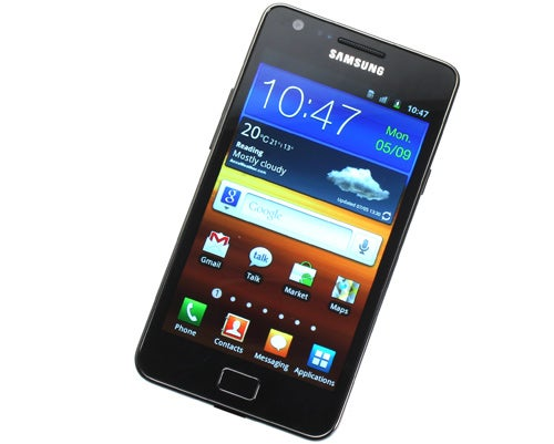Samsung Galaxy S2 Front Screen