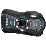 Optio WG-1 Black Digital Camera (14 Megapixel - 5 mm-25 mm - 2.7