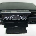 Epson Stylus Photo PX720WD - CD Tray
