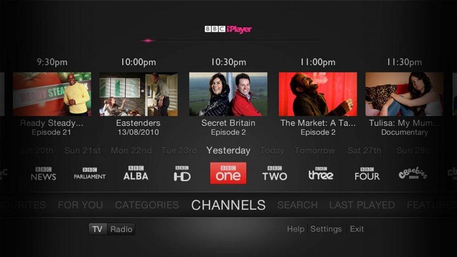 New BBC iPlayer