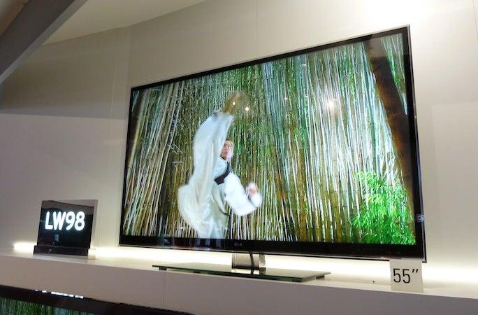 LG Nano 3D TV