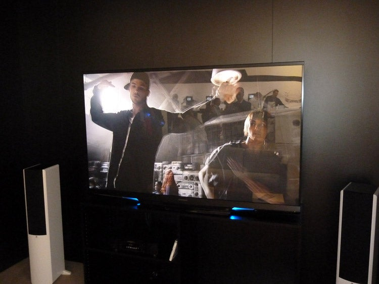 Mitsubishi laser rear projection TV
