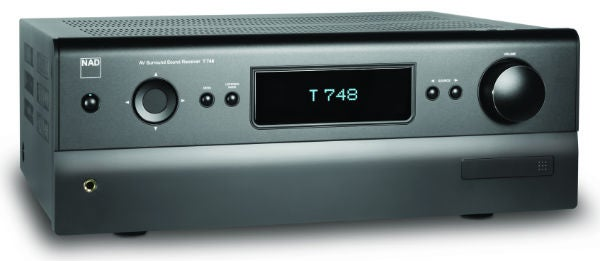 nad t748 review trusted reviews rh trustedreviews com NAD T748 Receiver Nad 5 1
