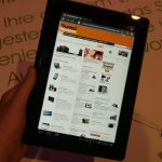 Sony Tablet S Web Browser