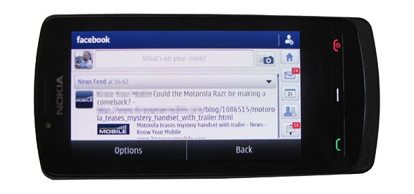 Face Book For Symbian