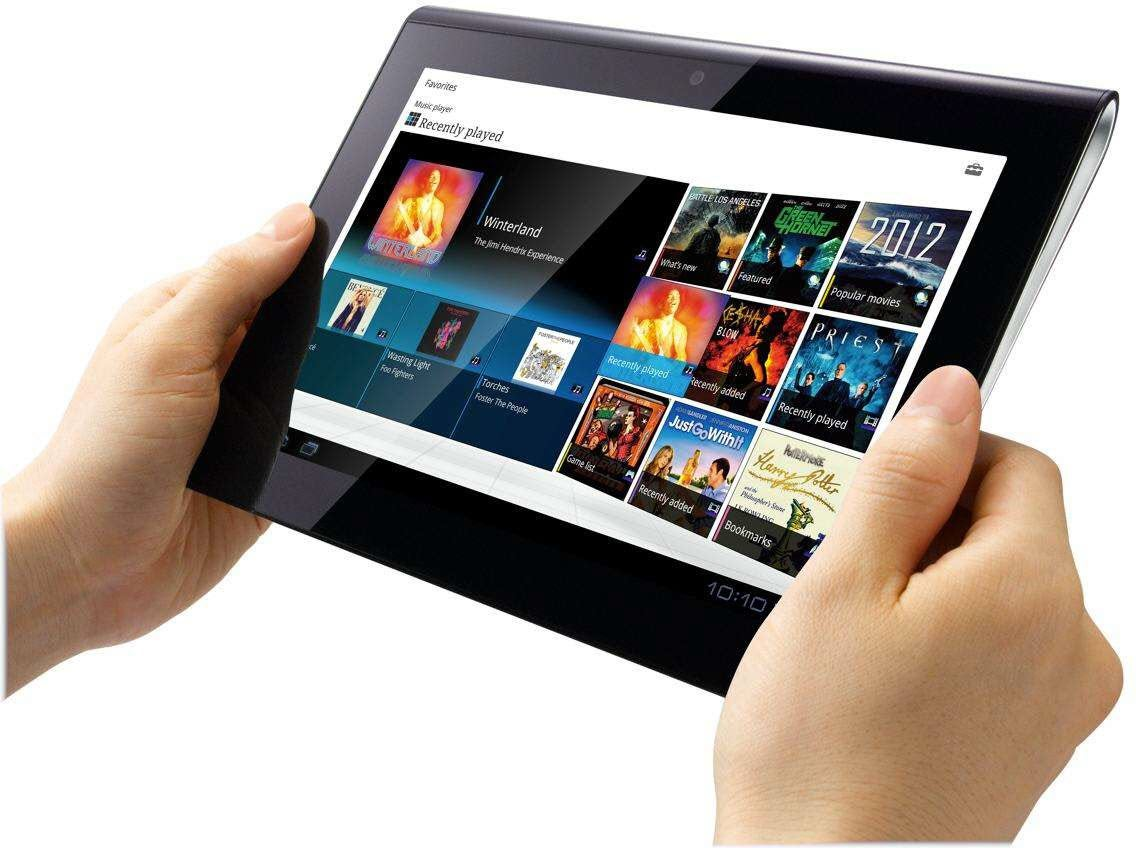 sony tablet s review trusted reviews. Black Bedroom Furniture Sets. Home Design Ideas