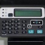 HP LaserJet Pro M1217nfw MFP - Controls