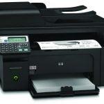HP LaserJet Pro M1217nfw MFP - Printing