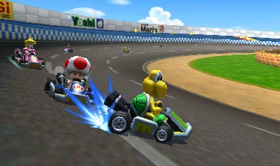 mario kart 7 mario kart 7 graphics gameplay and online review