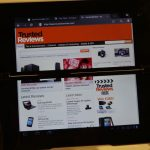 Sony Tablet P Web Browser