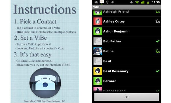 ViBe Android App Review | Trusted Reviews