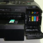 Brother MFC-J5910DW - Cartridges and Card Slots