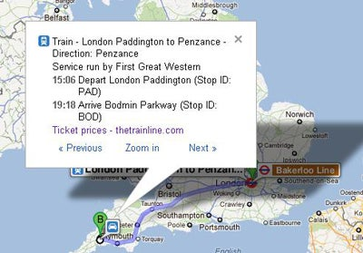 Google Maps Adds Uk Train Times Trusted Reviews
