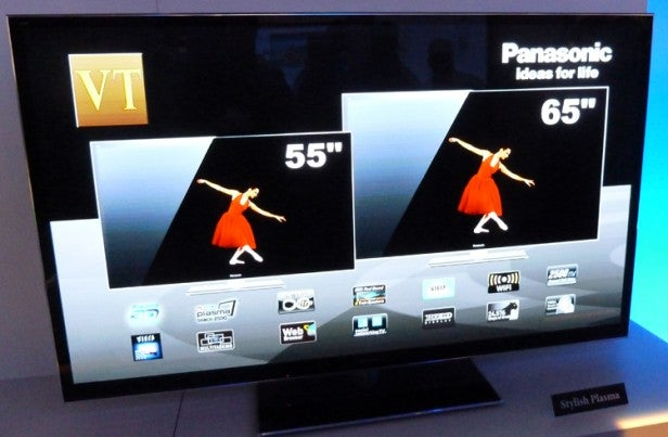 Panasonic VT50 plasmas CES