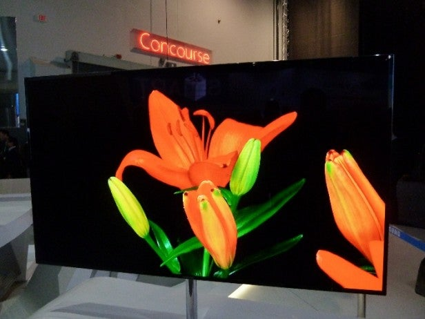 Samsung 55in OLED CES
