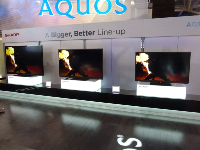 Sharp 80in First Look CES
