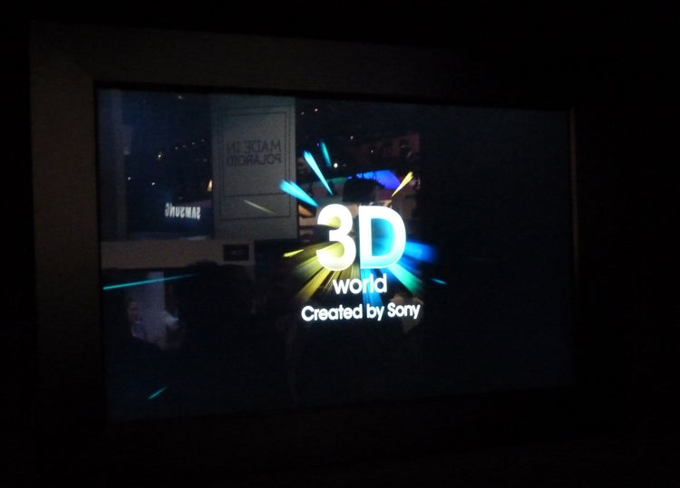 Sony glasses-free 3D TV
