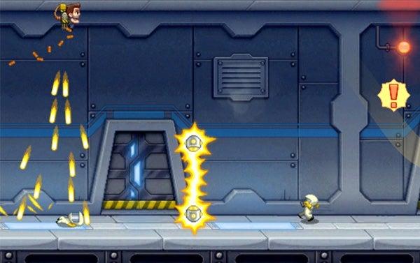 Jetpack Joyride iPhone Game Review