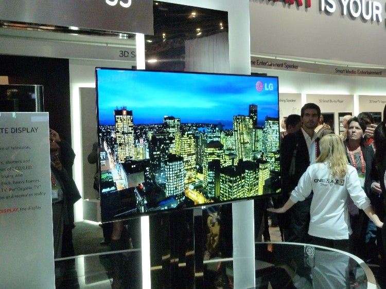 LG 55in OLED TV CES
