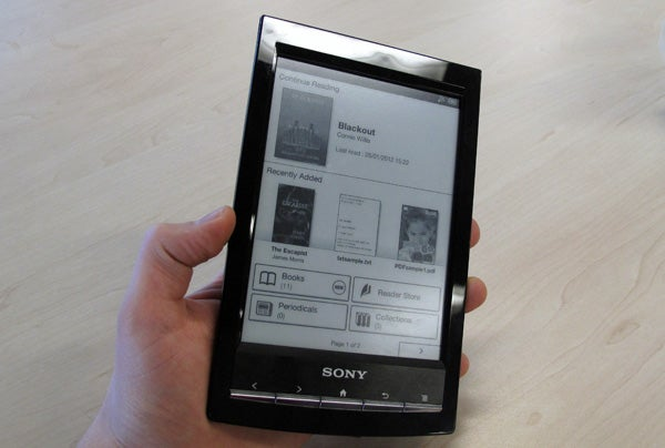 Sony PRS-T1 review