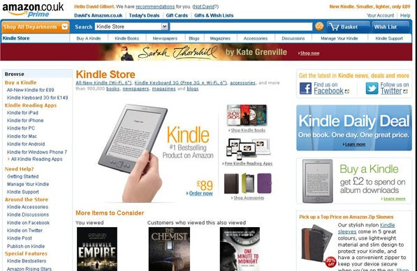 buy kindle in store