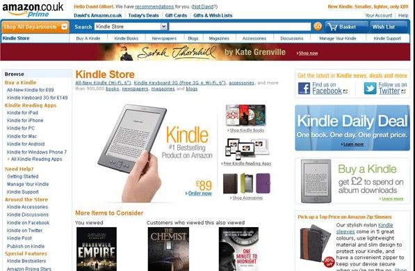 Amazon Kindle Store IPG