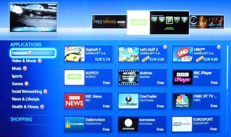 Panasonic Viera Connect Smart TV platform