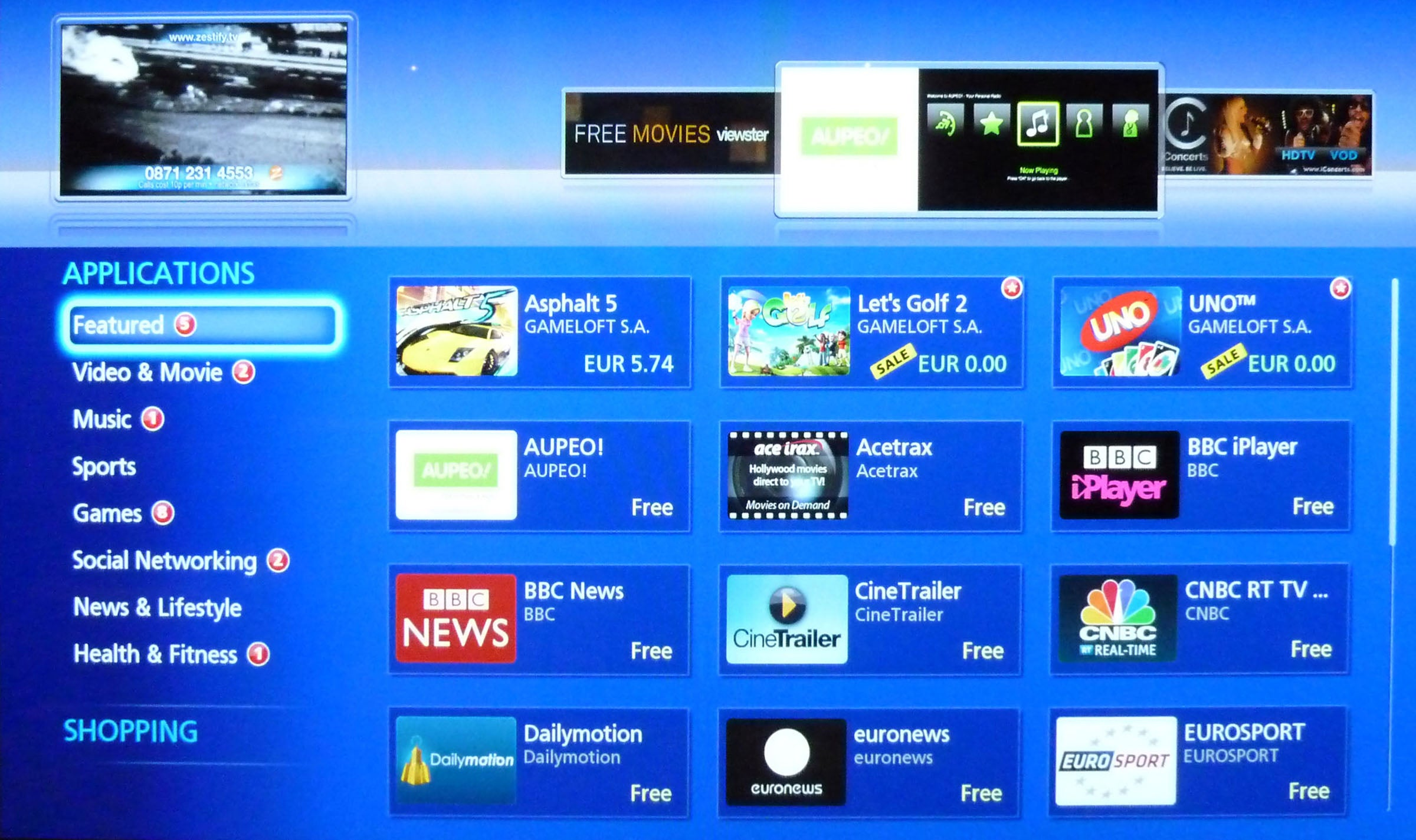 Panasonic Smart Tv Apps