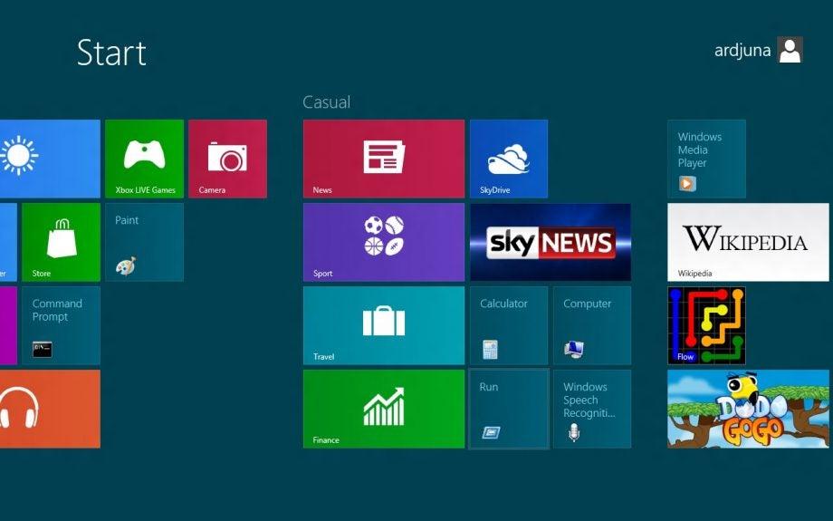 Windows 8 Navigation