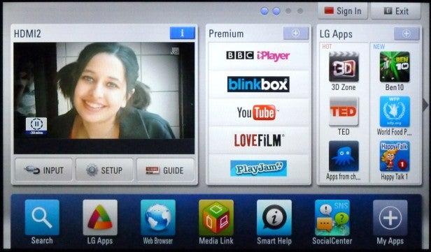 LG Smart TV platform
