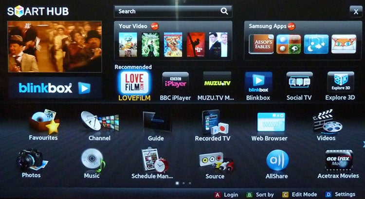 Samsung Smart TV platform